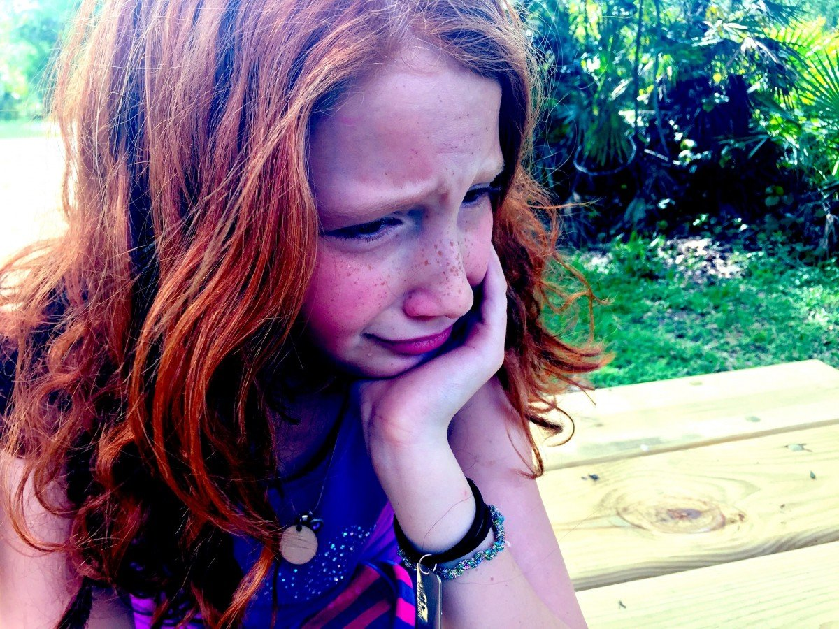 Niña llorando. | Imagen: PxHere