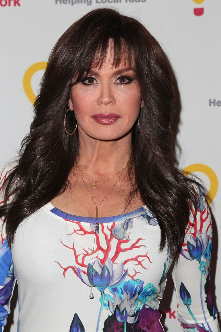 "Marie Osmond attends the Jennifer Lopez and Marie Osmond launch of the ""Put Your Money Where The Miracles Are"" campaign at Avalon on May 14, 2015. 