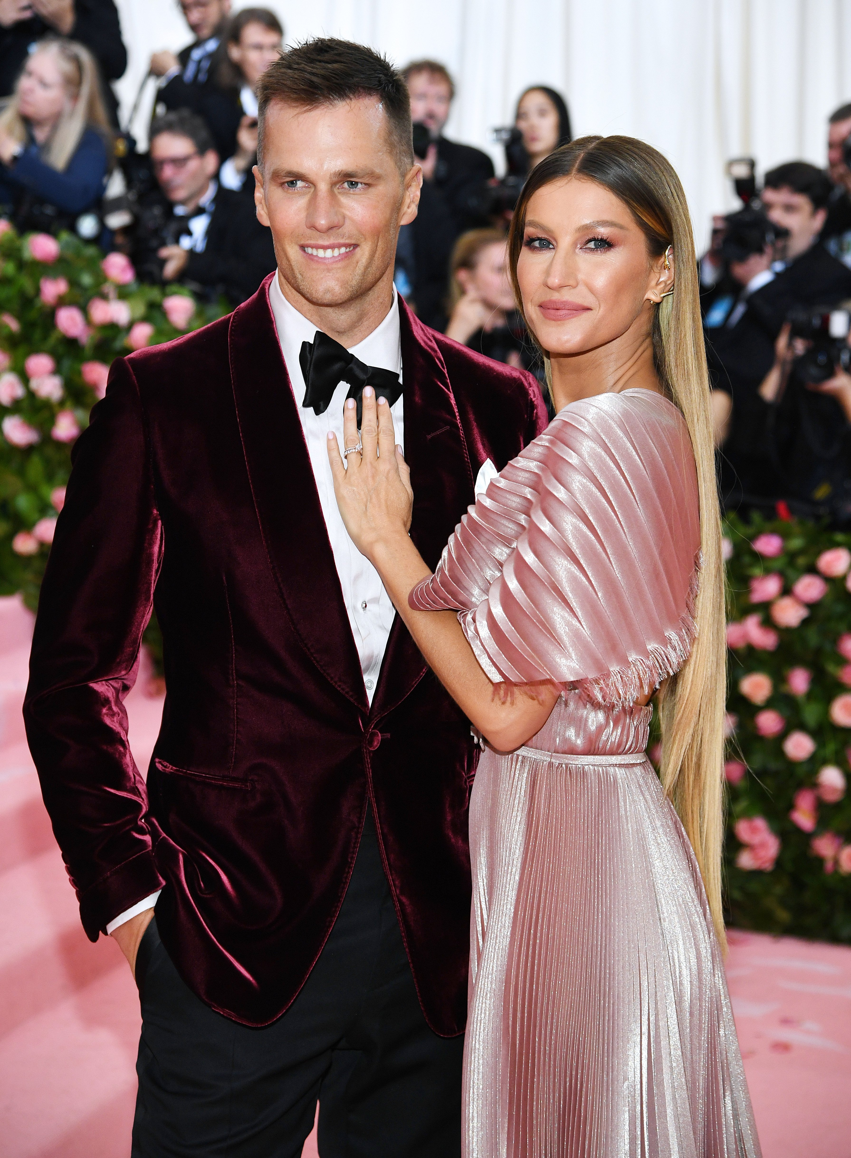 Gisele Bündchen and Tom Brady attend The 2019 Met Gala Celebrating Camp: Notes on Fashion on May 06, 2019, in New York City. | Source: Getty Images.