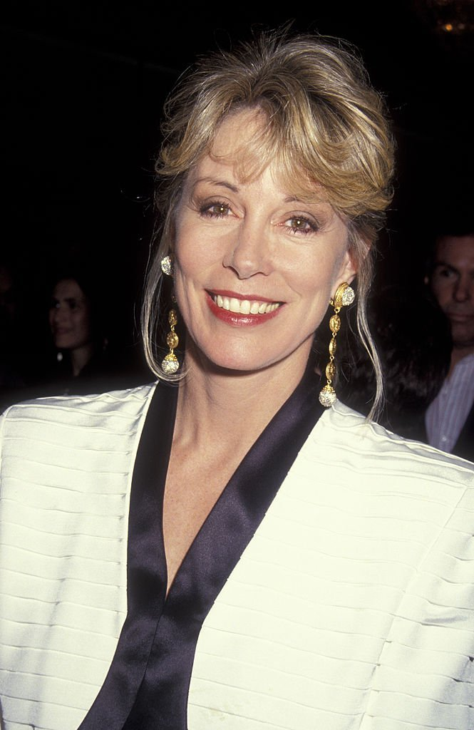 Sarah Purcell attends Scott Newman Center Benefit Honoring George Schlatter on November 1, 1992 | Photo: GettyImages
