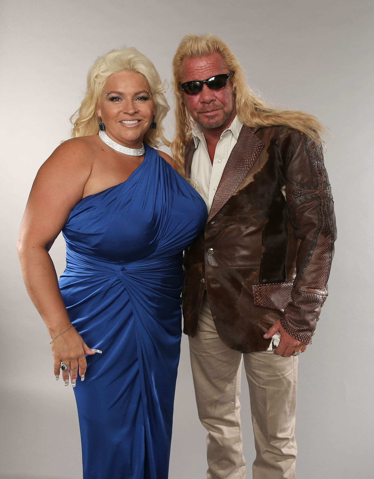 Duane Dog Lee Chapman and Beth Chapman pose at the Wonderwall portrait studio during the 2013 CMT Music Awards  | Getty Images