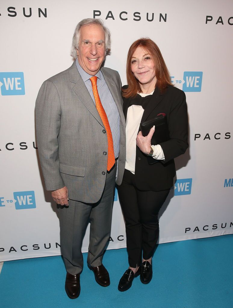 Henry Winkle and Stacey Weitzman at a PacSun event | Source: Getty Images