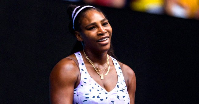 Serena Williams' Daughter Olympia Looks like a Pro as She Plays Tennis in This New Photo