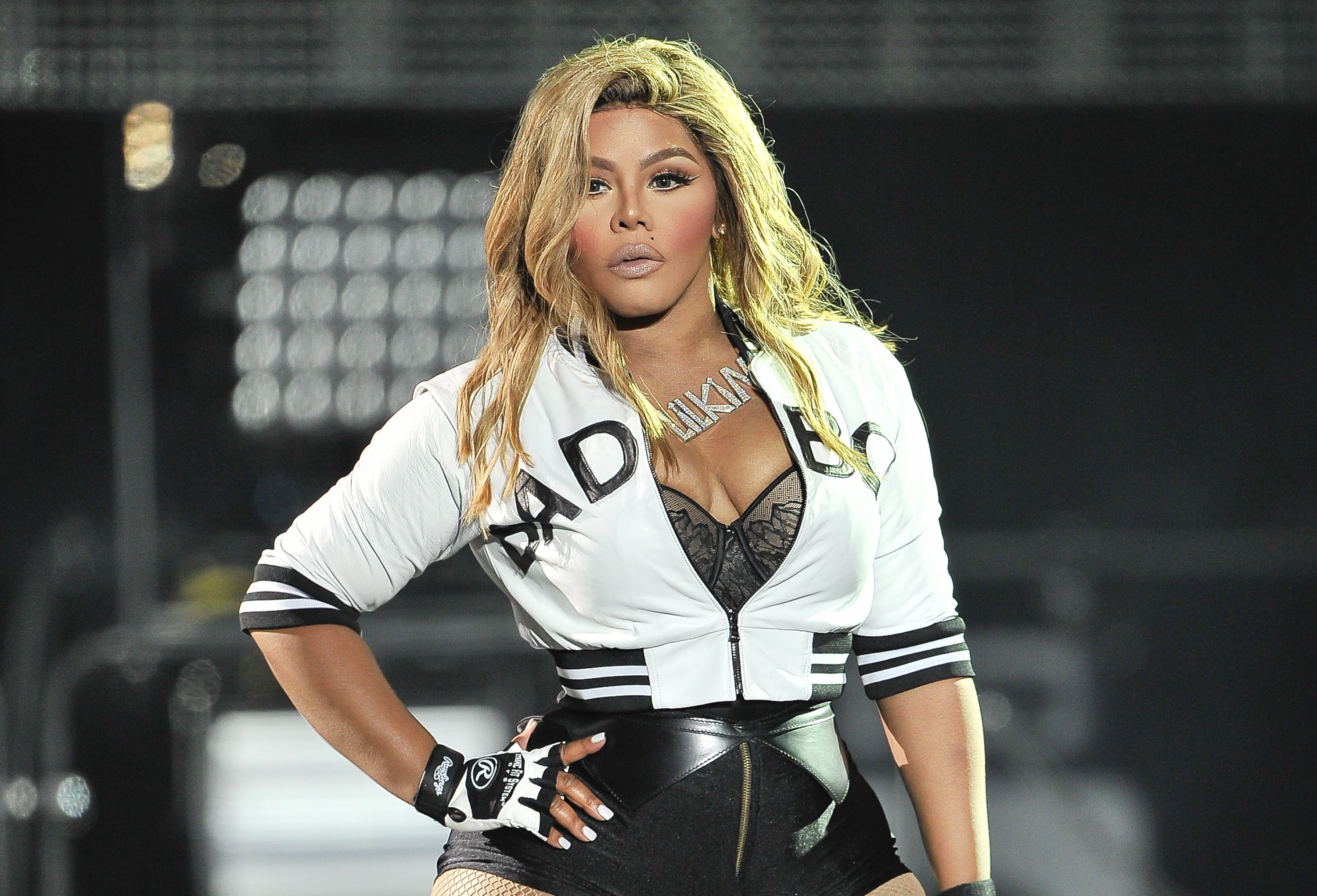 Lil' Kim performing at the Bad Boy Family Reunion Tour at ORACLE Arena on September 30, 2016 in Oakland, California. | Source: Getty