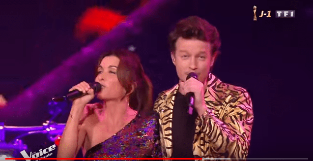 Johnny Hallyday et Sylvie Vartan - J'ai un problème | Jenifer et Sidoine | The Voice 2019 / Youtube