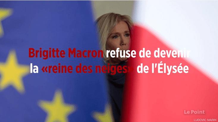Brigitte Macron | Source : Dailymotion / 6mediaswibbitzlp