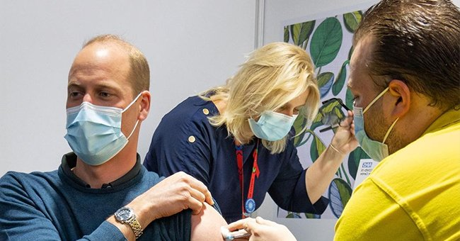 Prince William Gets His First Dose of the COVID-19 Vaccine