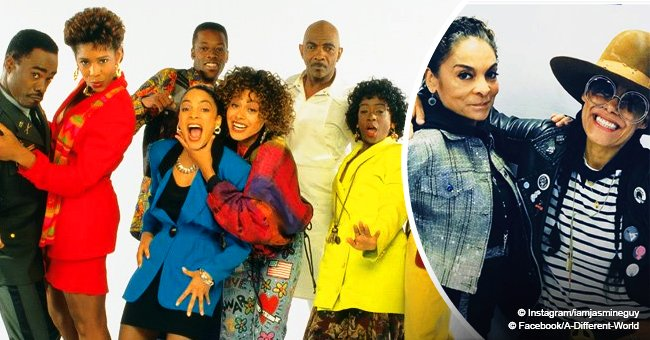 'A Different World' castmates Jasmine Guy and Cree Summer reunite for a good cause in new pic