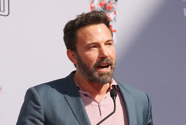 Ben Affleck attends the Kevin Smith and Jason Mewes handprint and footprint ceremony on October 14, 2019. | Photo: Getty Images