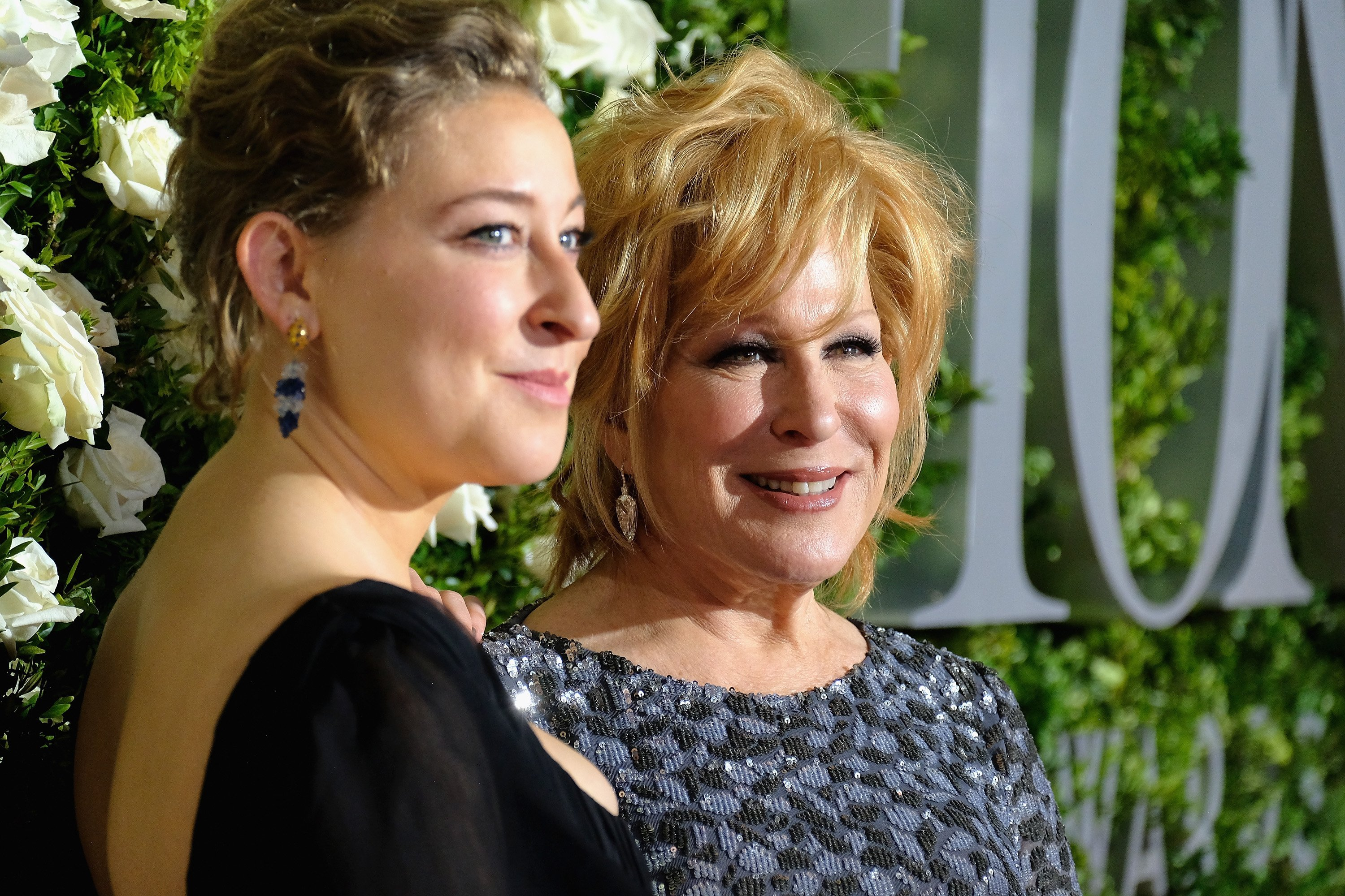 Sophie Von Haselberg with Better Midler at the 2017 Tony Awards at Radio City Music Hall   Photo: Getty Images