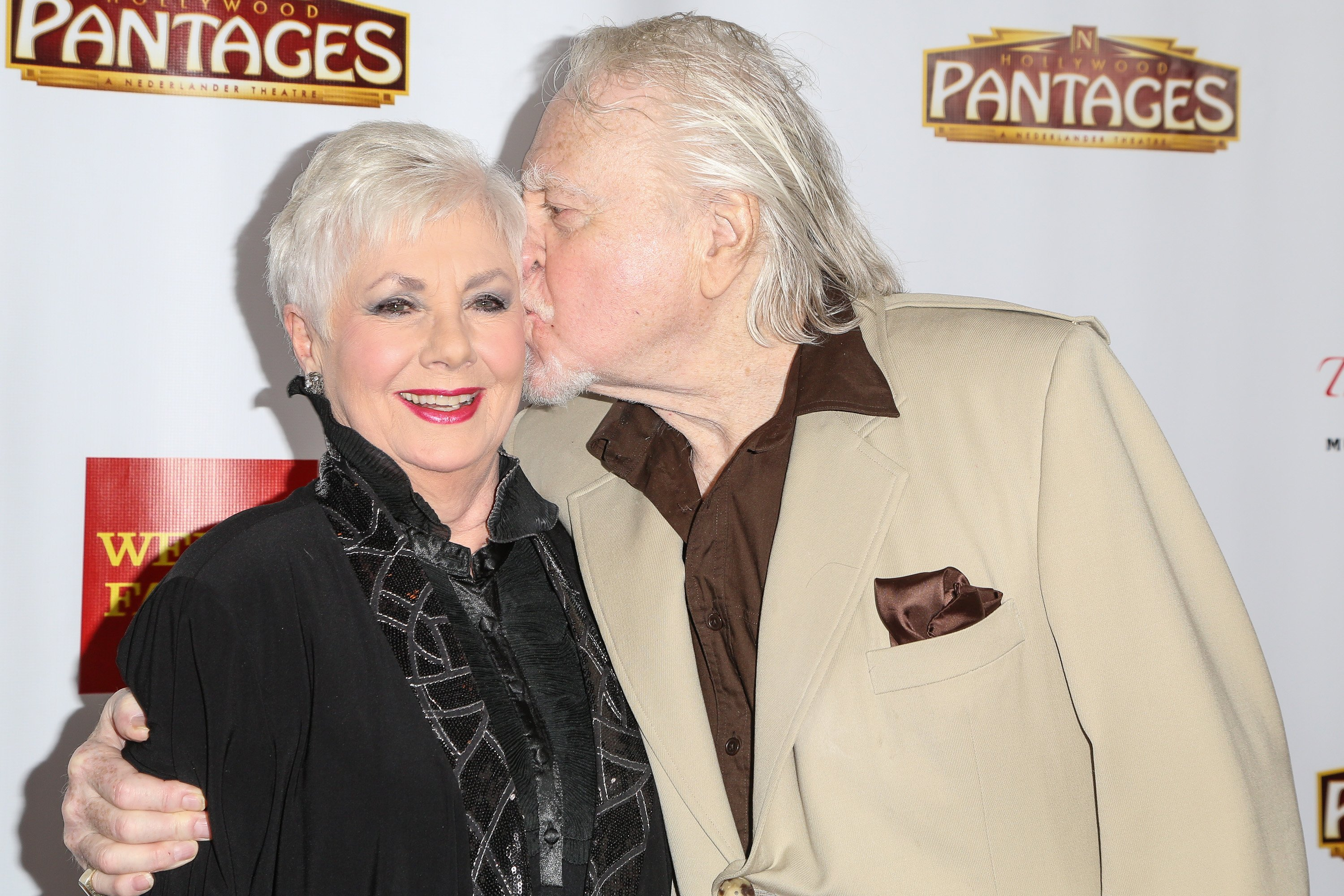 Shirley Jones and Marty Ingels on June 1, 2014 in Hollywood, California | Source: Getty Images