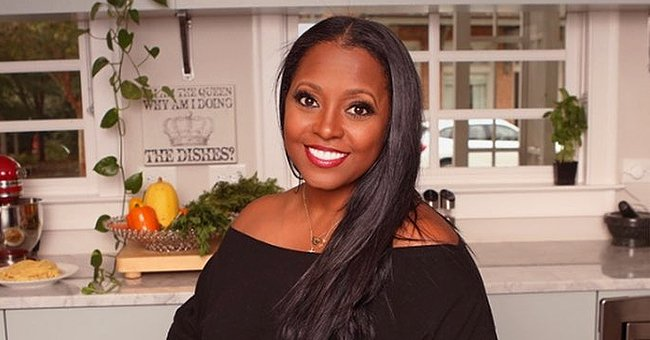 Keshia Knight Pulliam Shows off Her Bright Red Lipstick and Growing Gray Hair in a Gorgeous New Selfie