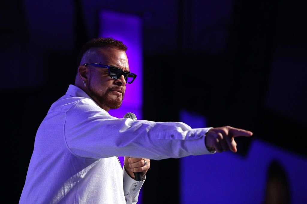 Sinbad takes the stage at the 2018 So the World May Hear Awards Gala benefitting Starkey Hearing Foundation at the Saint Paul RiverCentre on July 15, 2018 in St. Paul, Minnesota. | Source: Getty Images