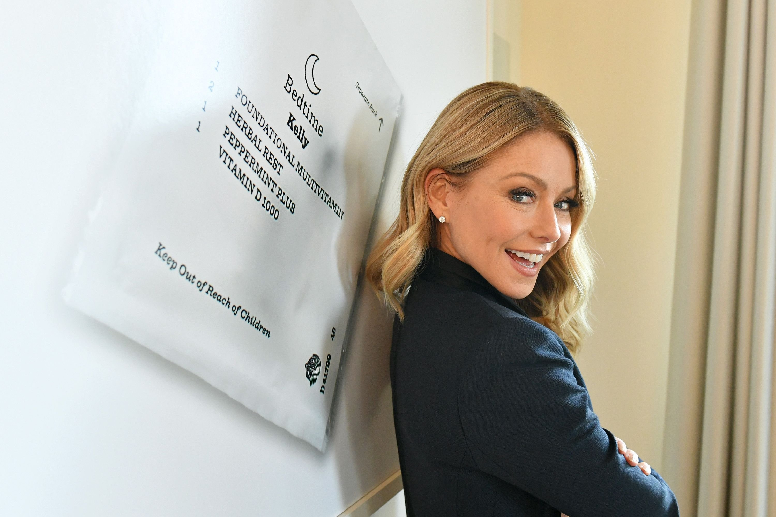 Kelly Ripa announces that she is an ambassador for Persona™ Nutrition on February 19, 2020 in New York City   Getty Images