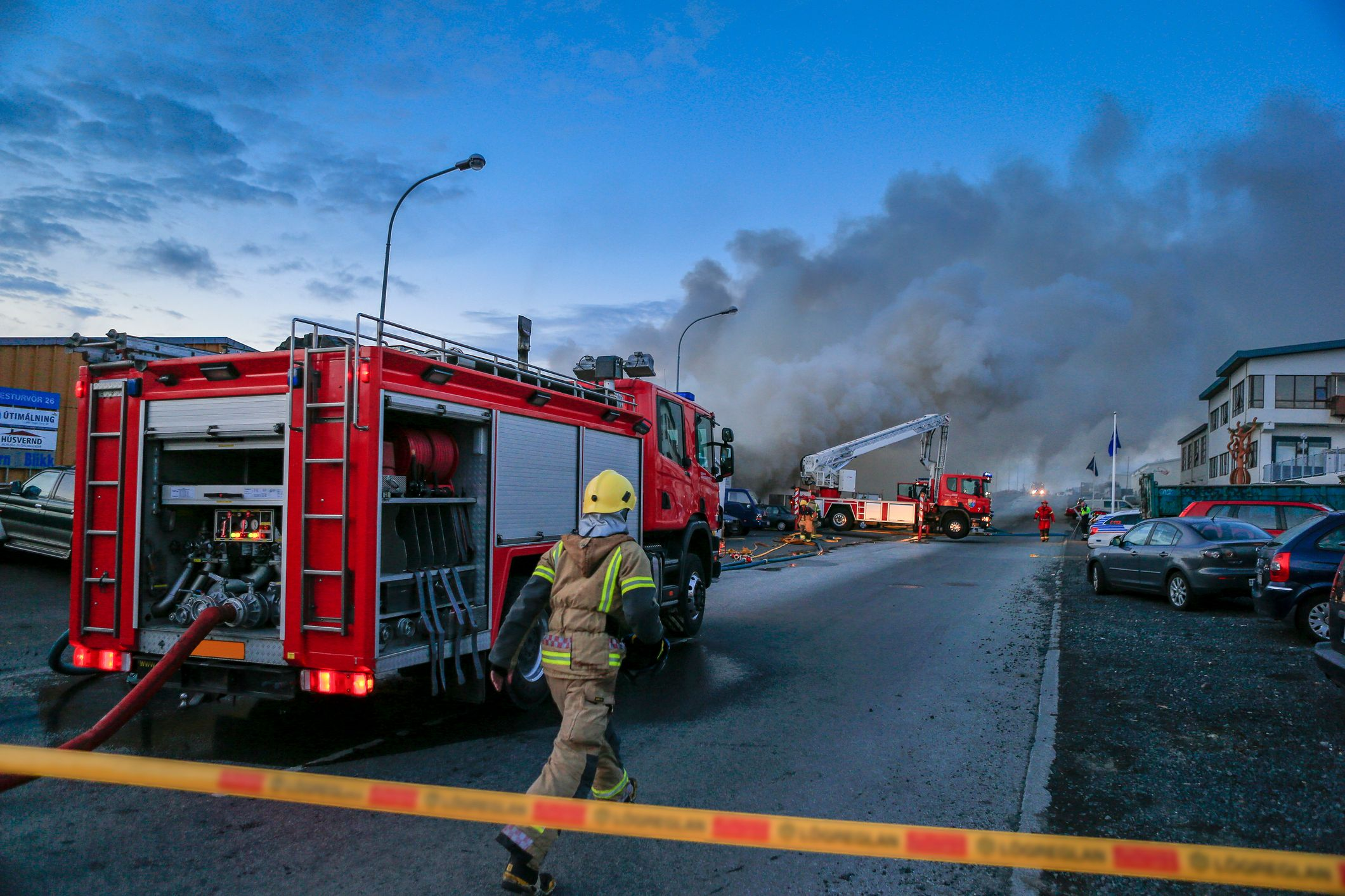 Firefighters respond to a fire emergency. | Source: Getty Images