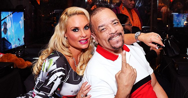 Ice-T's Wife Coco Austin Flaunts Her Newly-Dyed Blonde Hair in a Picture Wearing a Tight White Tank Top