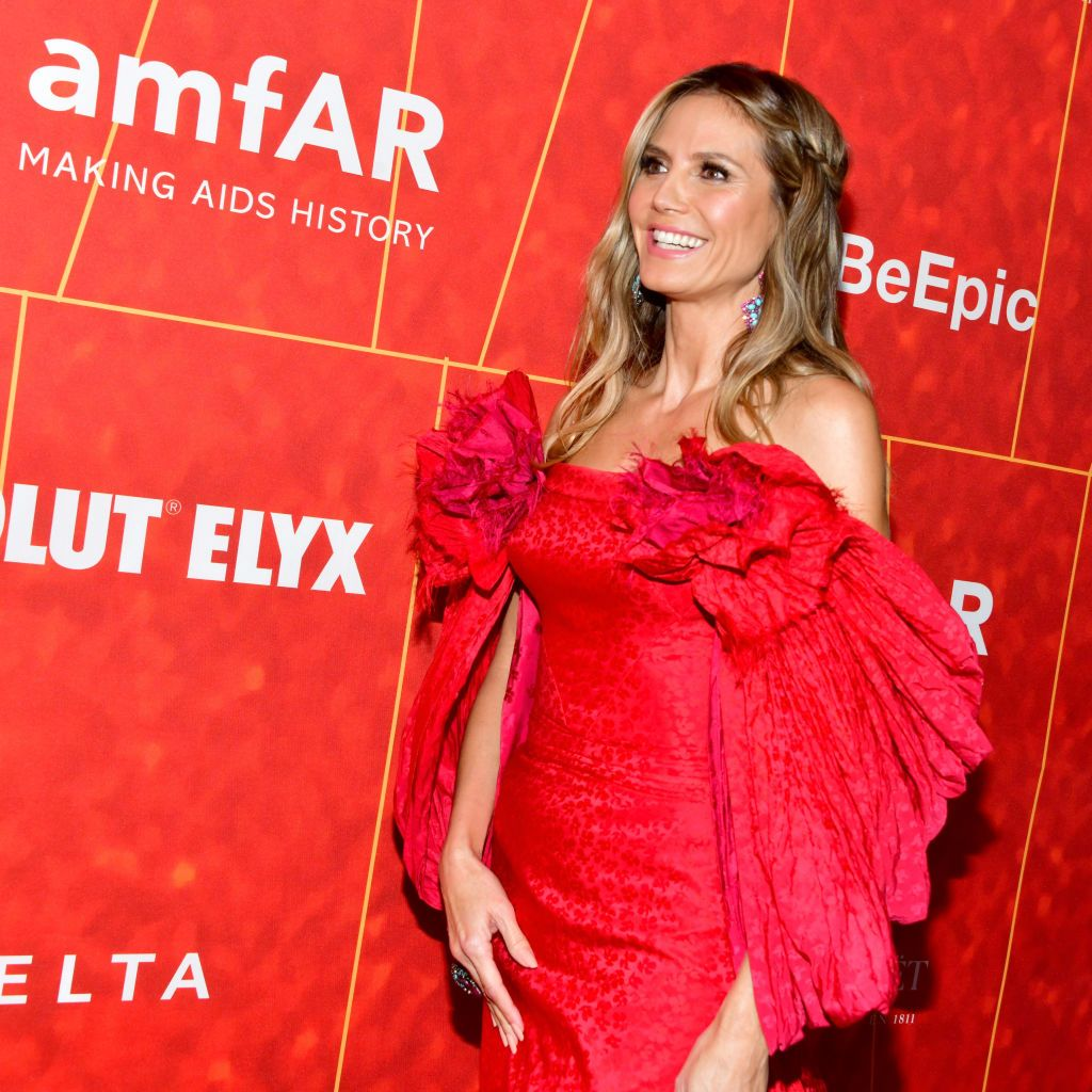 Heidi Klum at the amfAR Gala Los Angeles 2018 at Wallis Annenberg Center for the Performing Arts on October 18, 2018 | Photo: Getty Images