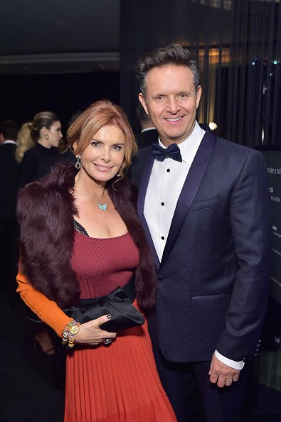 Roma Downey and Mark Burnett at Beverly Hills Hotel on January 31, 2019 in Beverly Hills, California. | Photo: Getty Images