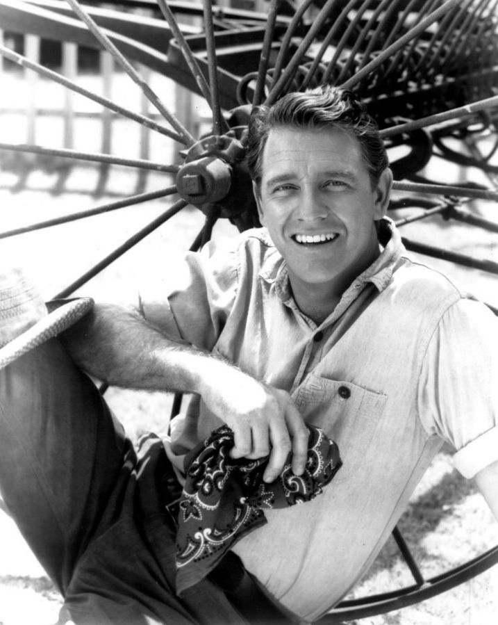 "Richard Crenna as Luke Mc Coy from the television program ""The Real McCoys"" in 1961 