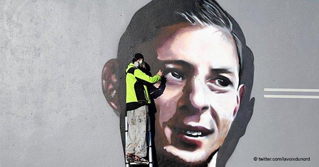 KMU rend hommage à Emiliano Sala en peignant son portrait pour qu'il puisse voir chaque lever de soleil