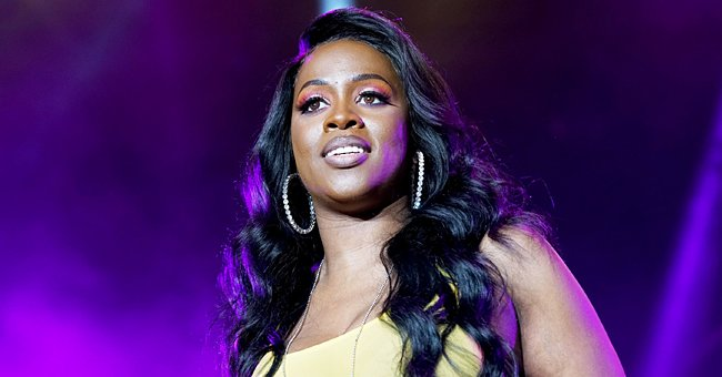 Remy Ma's Husband Kisses Their Daughter Who Was Rocking a Fendi Dress & Gold Jewelry (Photos)