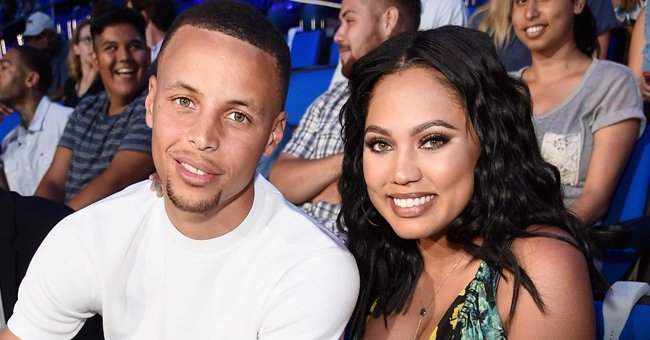 Steph Curry's Wife Ayesha Dons Bohemian Look in New Photo in a Long Burgundy Skirt with Tights