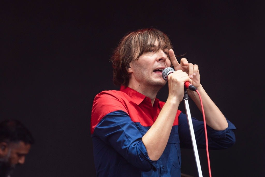 Thomas Mars of Phoenix performs live on stage during Austin City Limits Festival on October 7, 2018   Photo: Getty Images