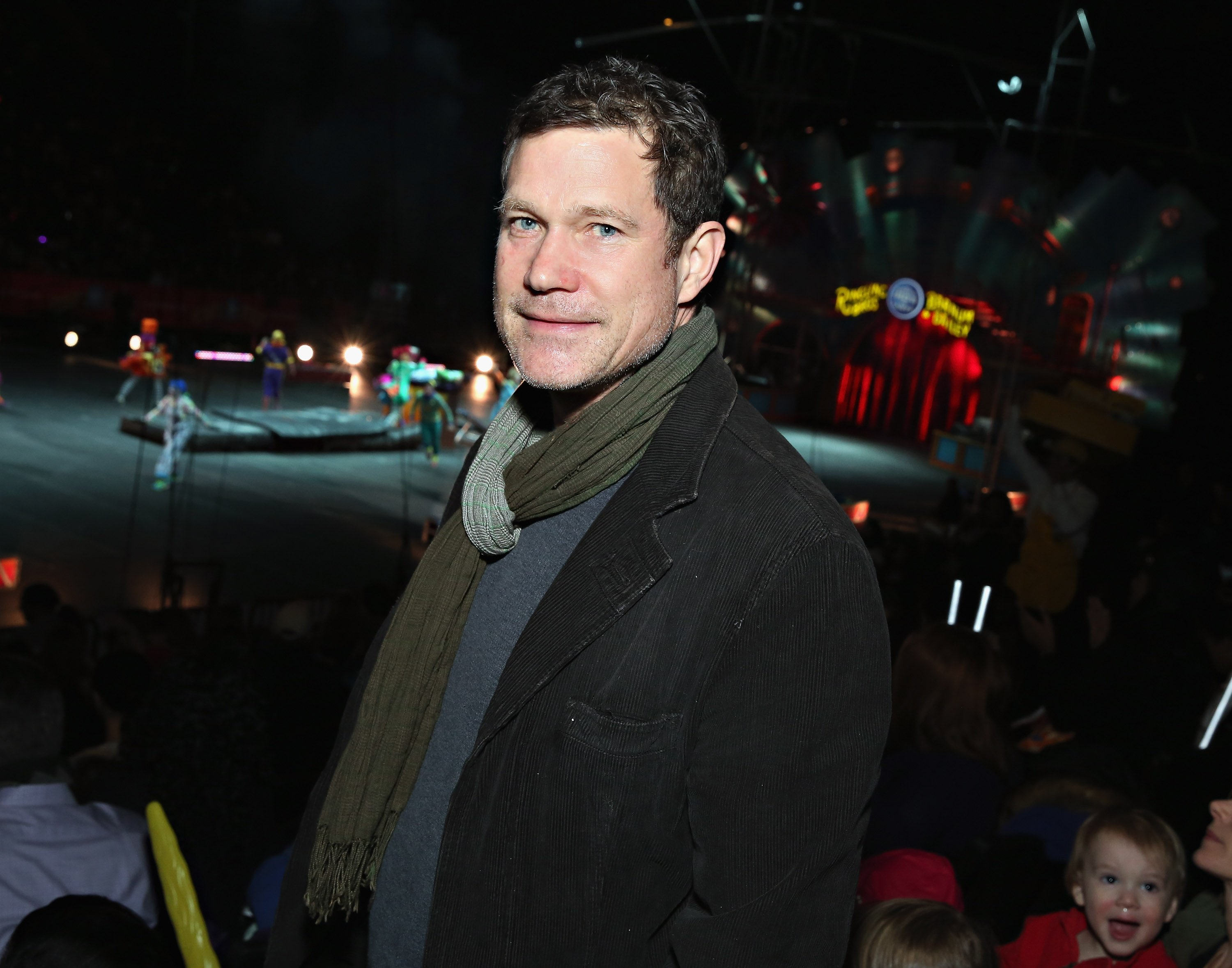 Dylan Walsh attends the New York premiere of Ringling Bros. and Barnum & Bailey presents 'CIRCUS XTREME'' at Barclays Center on February 20, 2014, in Brooklyn, NY. | Source: Getty Images.