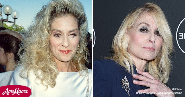 'Who's the Boss?' actress Judith Light, 69, glows in a stunning navy blue eighties power suit
