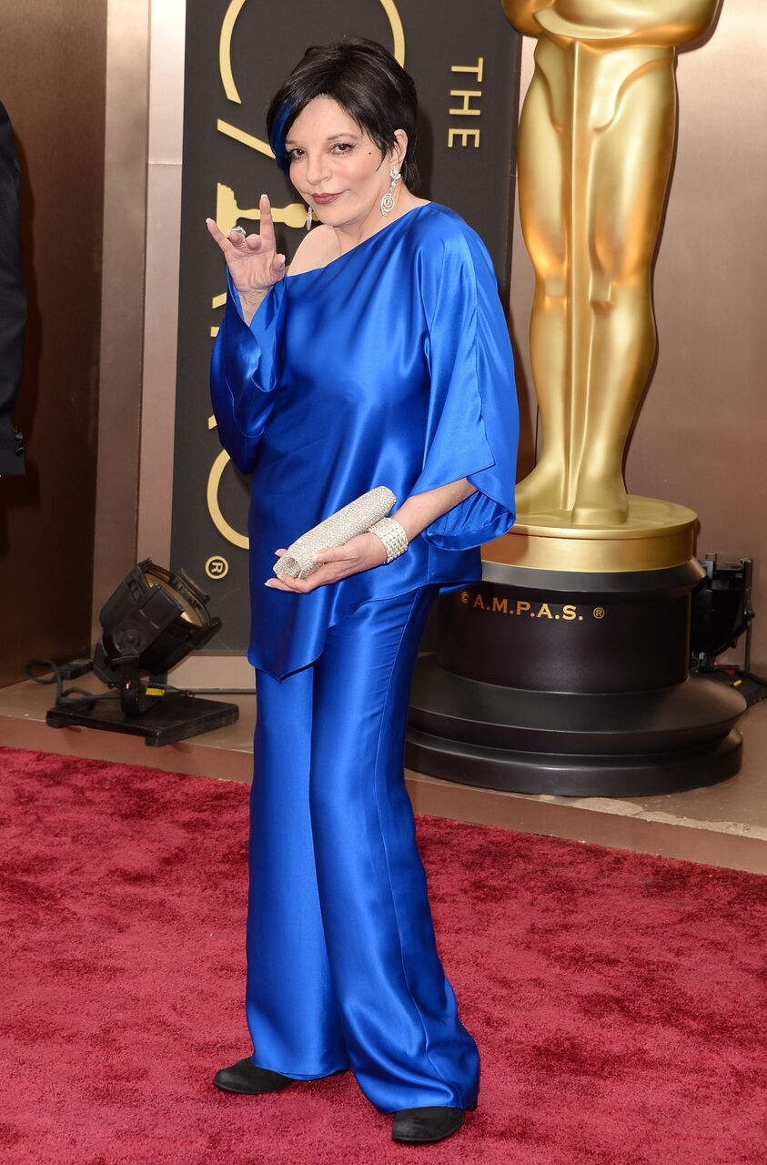 Liza Minnelli attends the Oscars at Hollywood & Highland Center. | Source: Getty Images