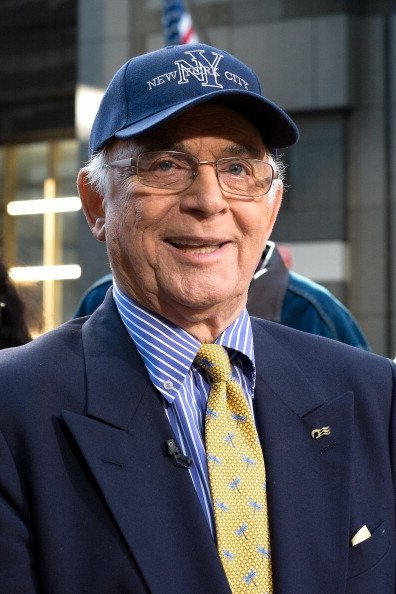Gavin MacLeod at Times Square on October 24, 2013 in New York City | Photo: Getty Images