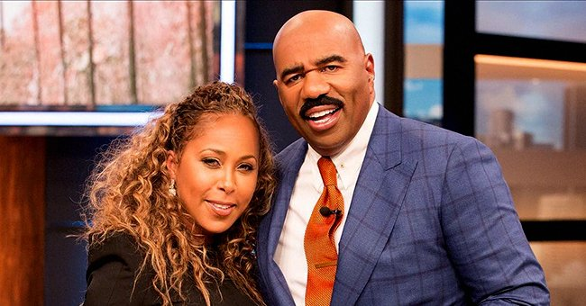Steve Harvey's Wife Marjorie Takes a Dip in the Ocean in This Epic Video as She Rides a Jet Ski