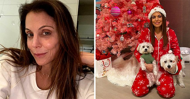 Bethenny Frankel, 50, Defies Her Age Posing in a Festive Red Onesie with Her Cute Puppies