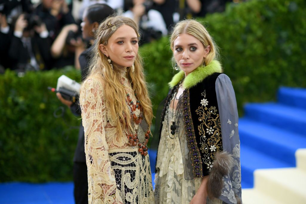 """Mary-Kate and Ashley Olsen attends the """"Rei Kawakubo/Comme des Garcons: Art Of The In-Between"""" Costume Institute Gala at Metropolitan Museum of Art 