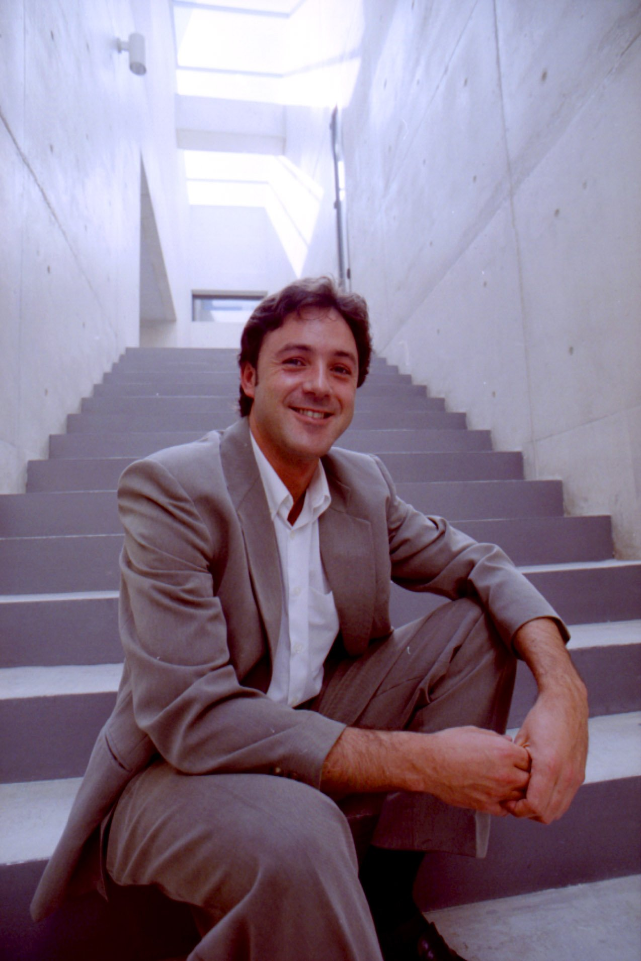 Pedro Roncal en 1996. || Fuente: Wikimedia Commons