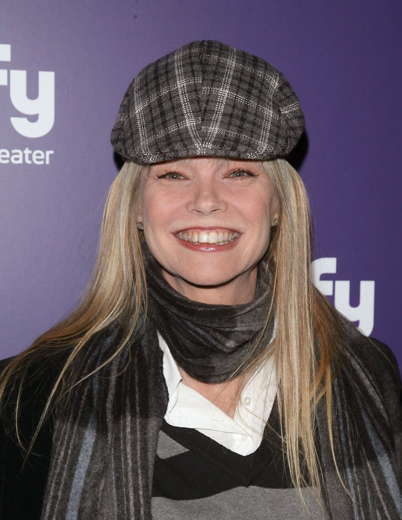 """Actress Julie McCullough at the """"Mega Python vs. Gatoroid"""" premiere at the Ziegfeld Theatre on January 24, 2011 in New York City 