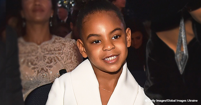 Beyoncé's Daughter Blue Ivy Carter Helps Grandma Tina Knowles Tell a Corny Joke in Adorable Video