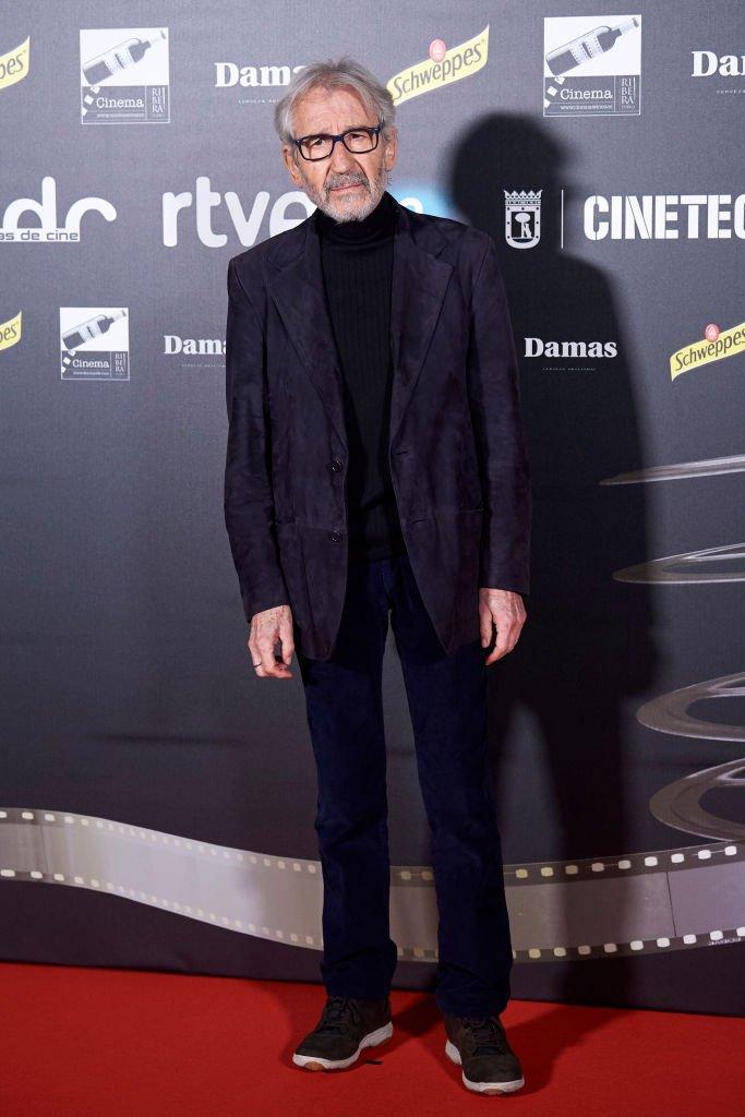 José Sacristán en los Premios 'Días de Cine' el 15 de enero de 2019 en Madrid, España. | Foto: Getty Images