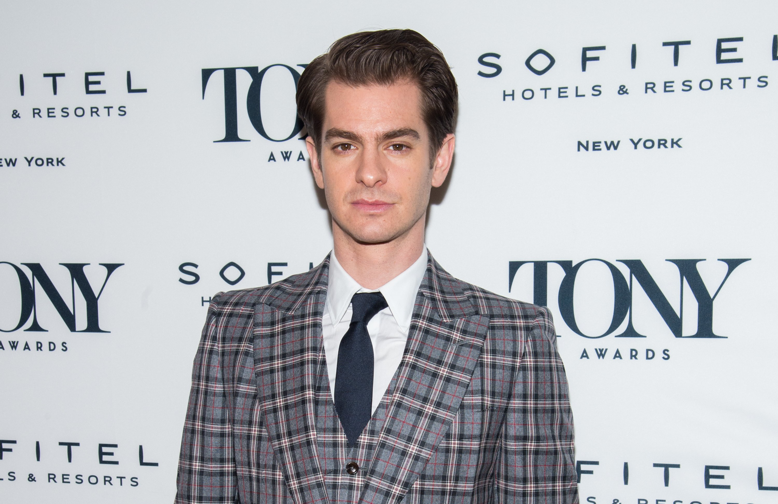 Andrew Garfield at the 2018 Tony Honors For Excellence In The Theatre and 2018 Special Award Recipients Cocktail Party at the Sofitel Hotel in New York City | Photo: Mark Sagliocco/WireImage via Getty Images
