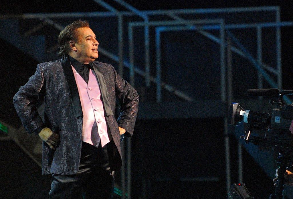 Juan Gabriel en concierto.    Fuente: Getty Images