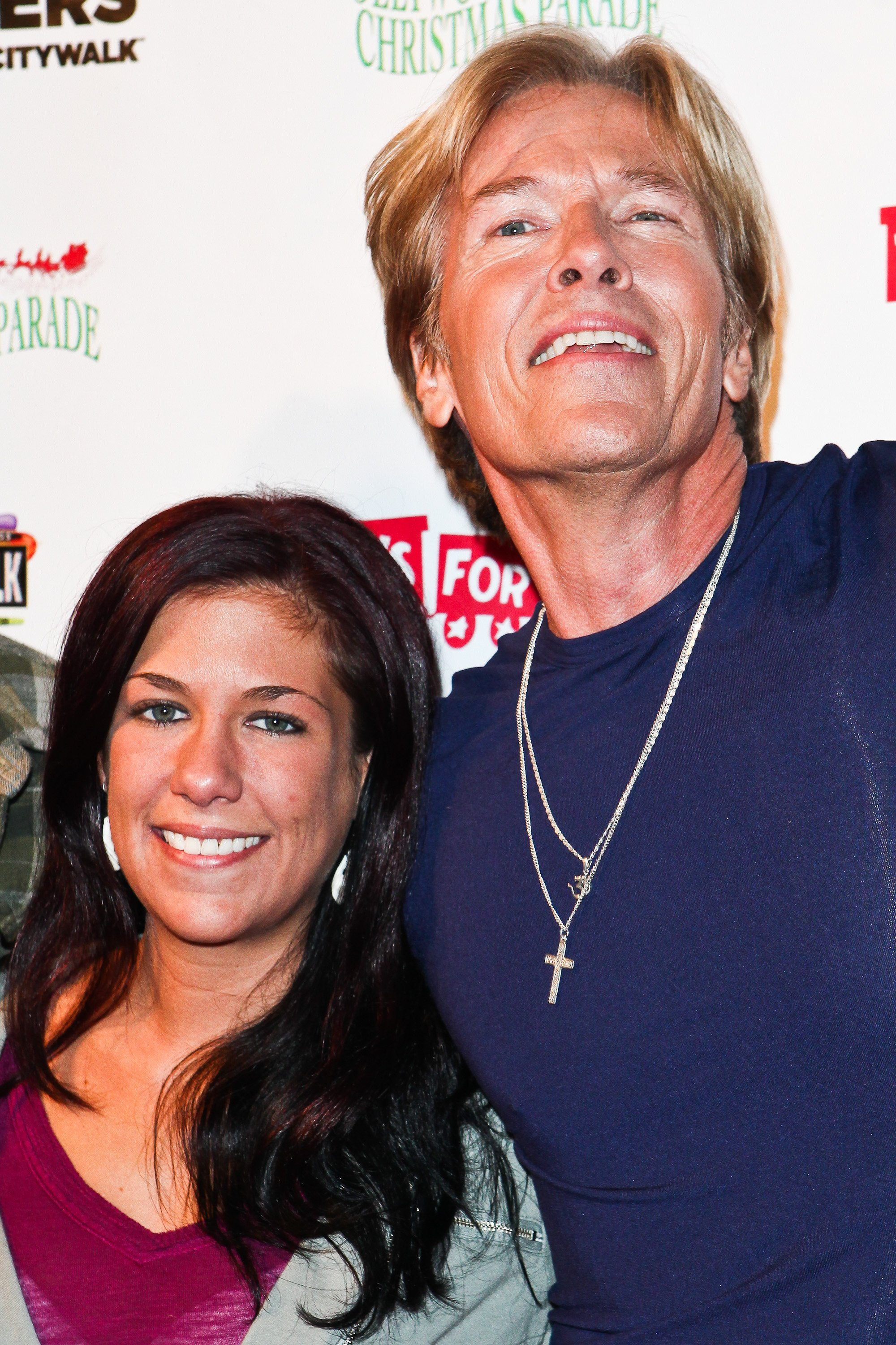 Kerry and Jack Wagner at the Hollywood Christmas Parade in 2011 | Photo: Getty Images