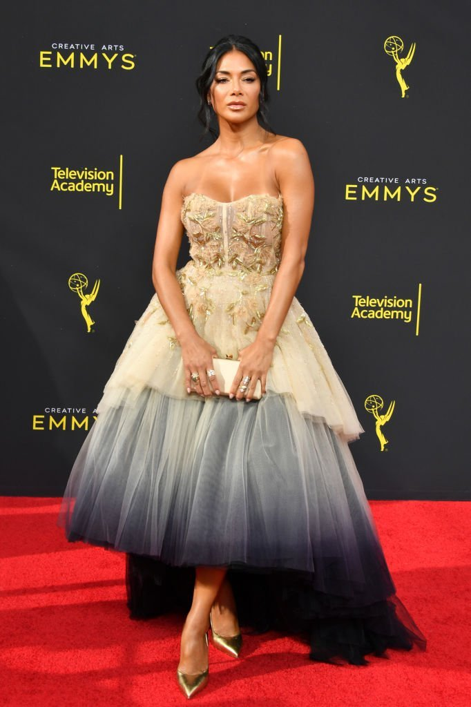 Nicole Scherzinger attends the 2019 Creative Arts Emmy Awards | Getty Images