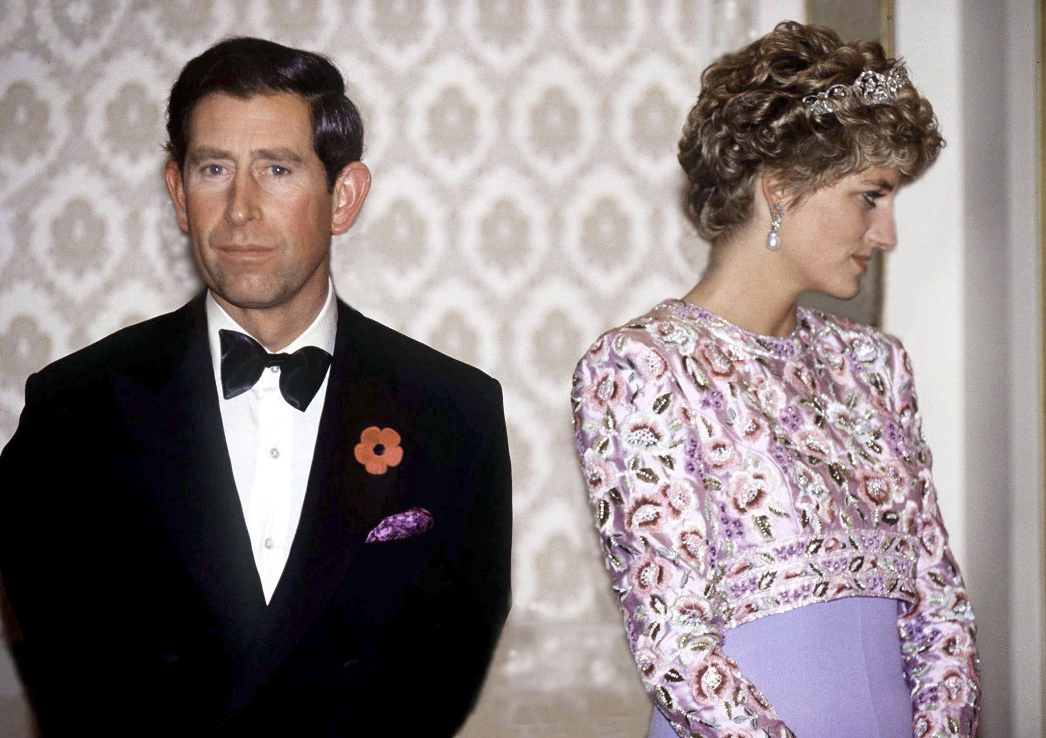 Prince Charles and Princess Diana in Seoul on November 3, 1992 | Photo: Getty Images