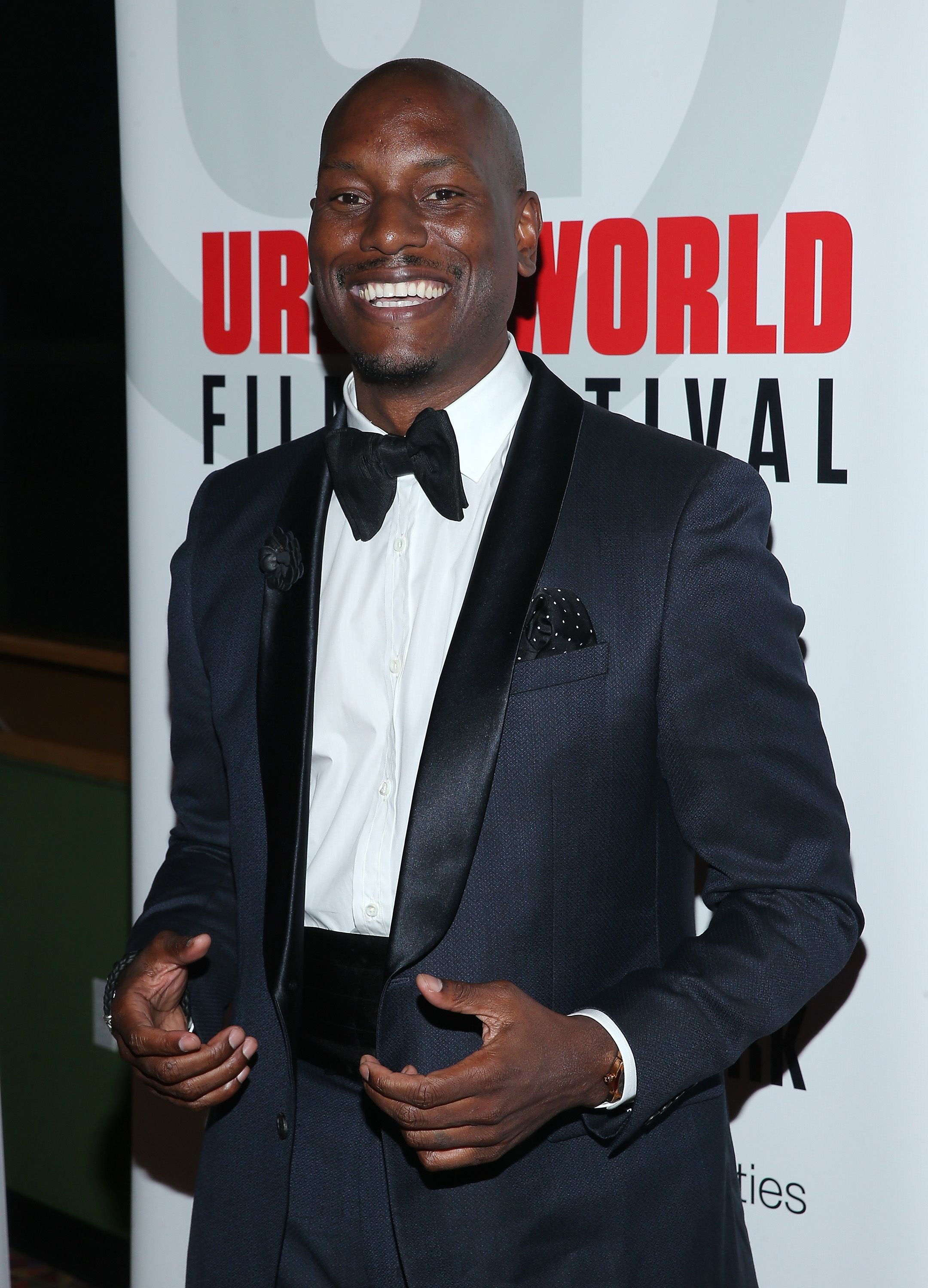 Tyrese Gibson at the 2015 Urbanworld Film Festival at AMC Empire 25 Theater on September 26, 2015 in New York City   Photo: Getty Images