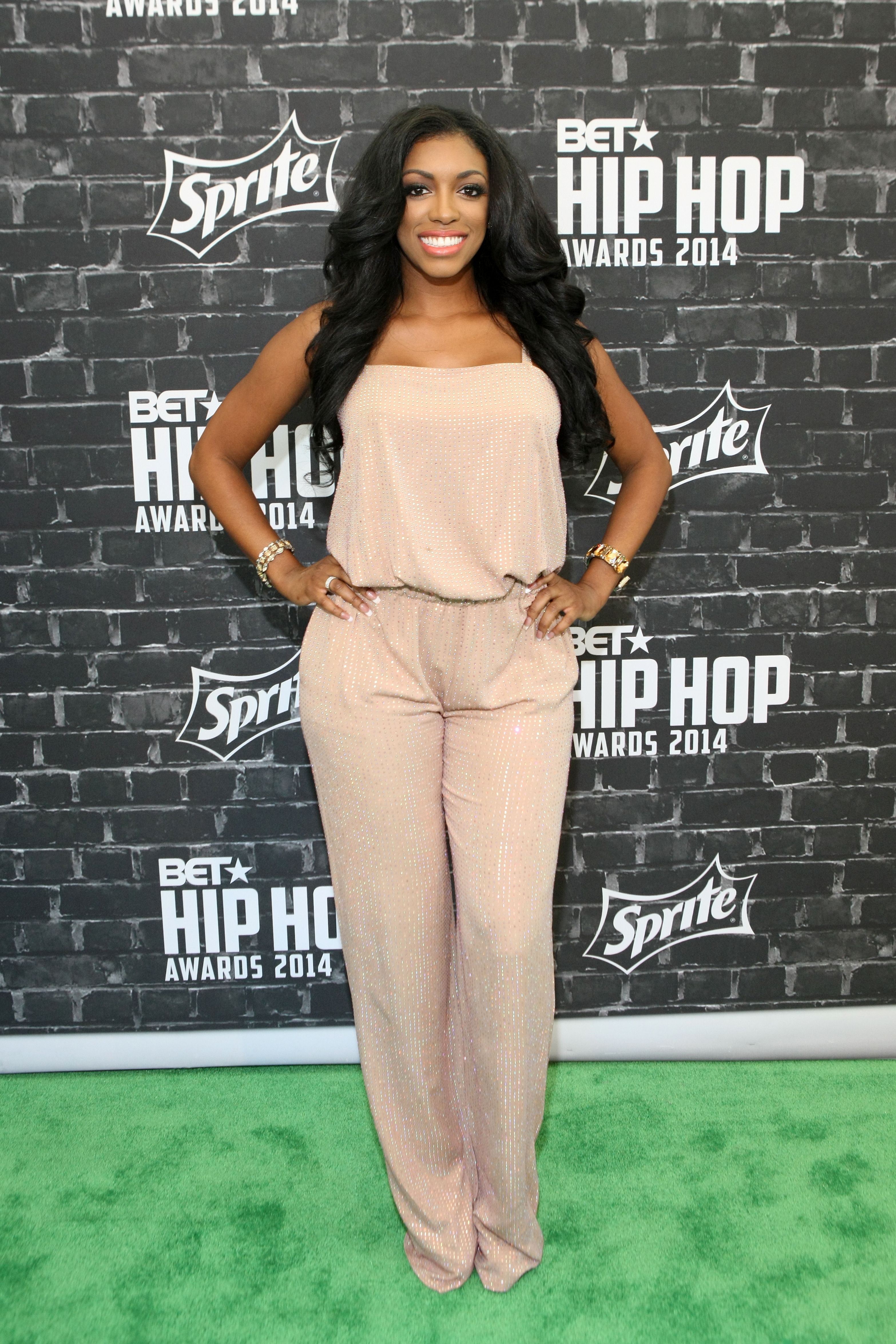 Porsha Williams during the BET Hip Hop Awards 2014 presented by Sprite at Boisfeuillet Jones Atlanta Civic Center on September 20, 2014 in Atlanta, Georgia.   Source: Getty Images
