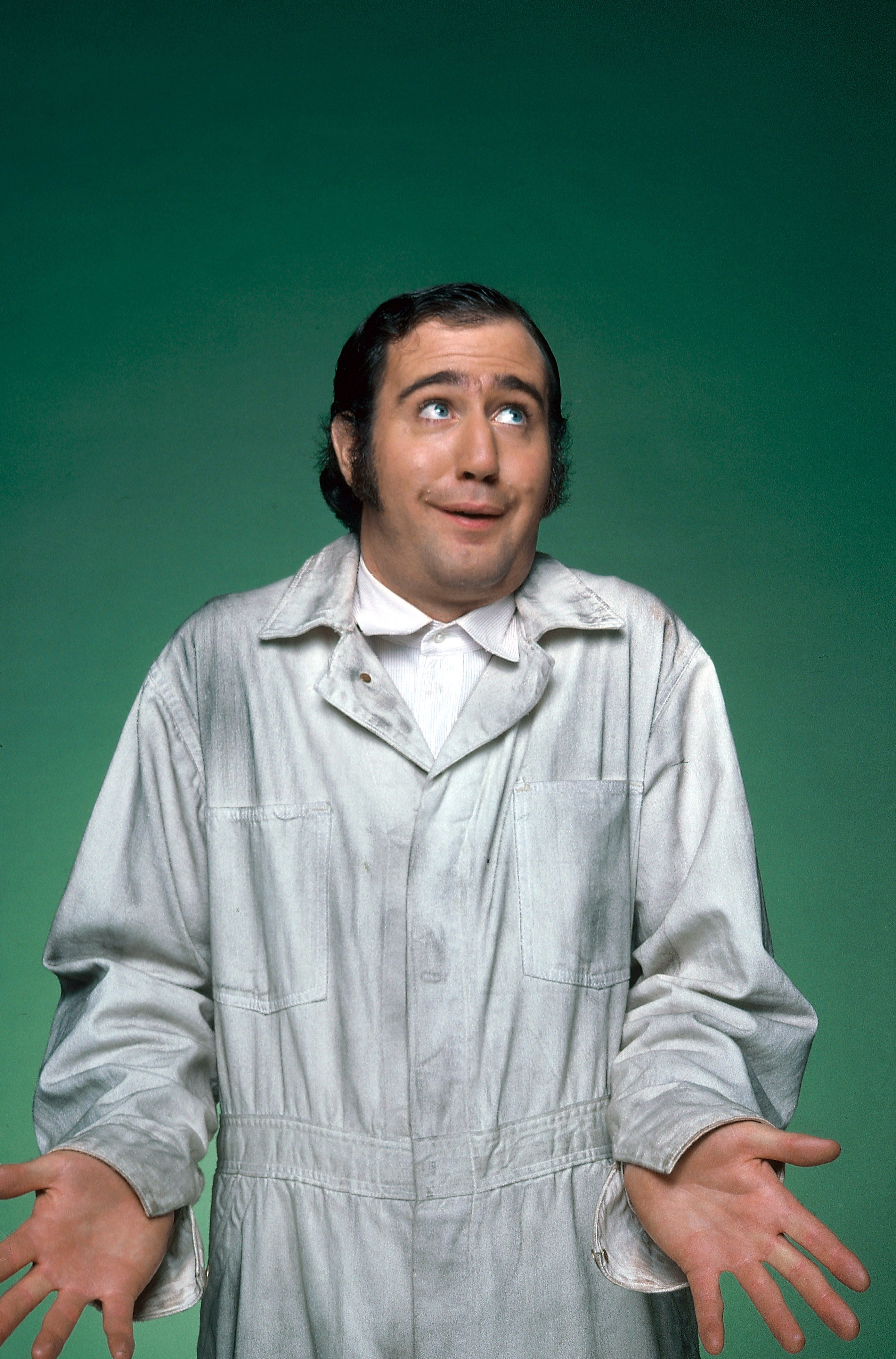 Andy Kaufman portrayed in the character of Taxi, 1978.    Photo: Getty Images