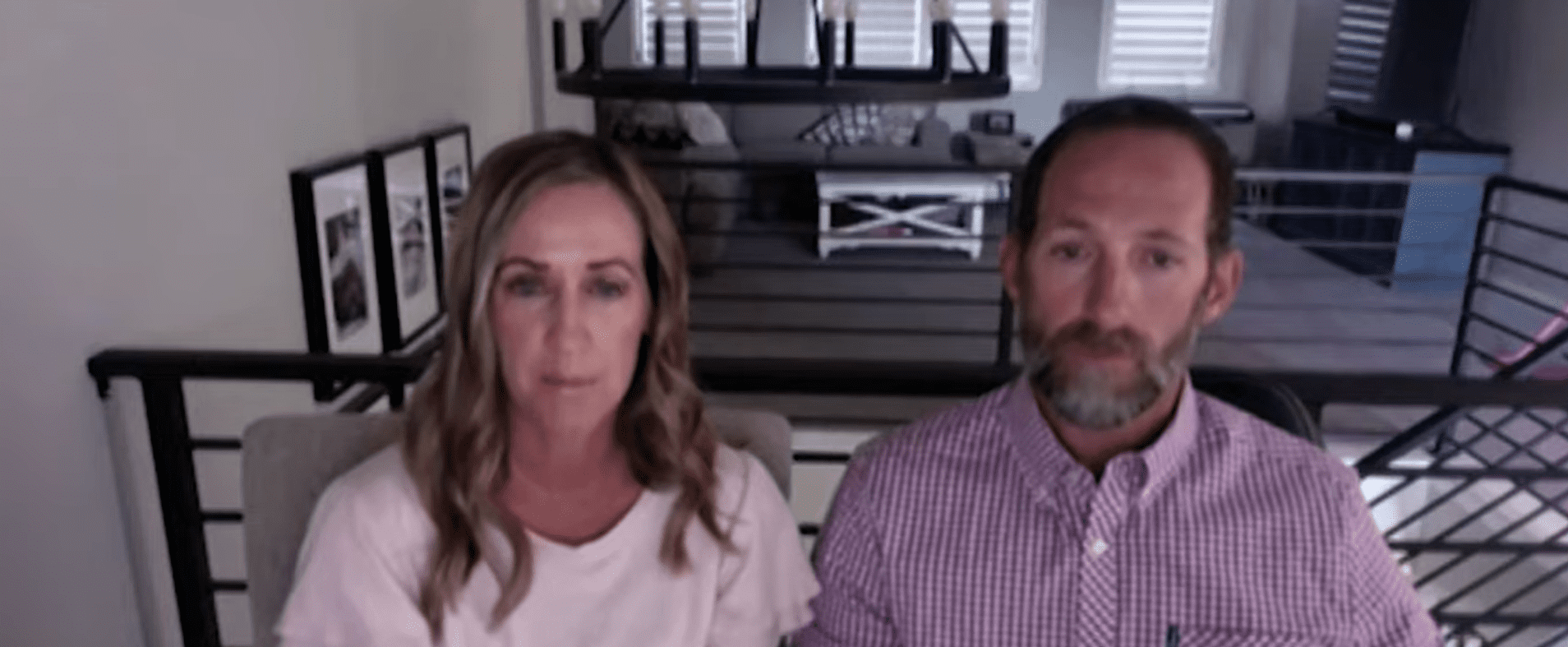 Kelly McNeil [left] and her husband Devin McNeil [right]. | Source: youtube.com/abc4utah