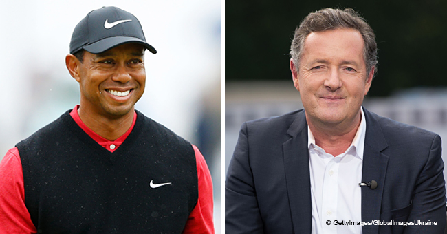 Piers Morgan Faces Backlash after His Inspirational Message on Tiger Woods' Iconic Victory