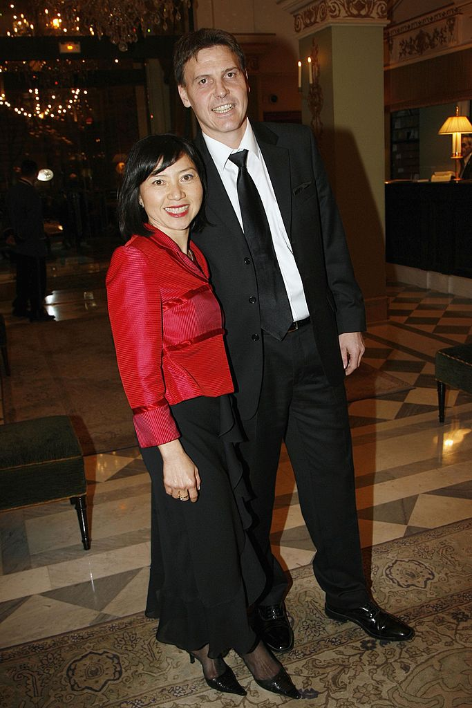 Anh Dao Traxel et de son mari Emmanuel Traxel. | Source : Getty Images