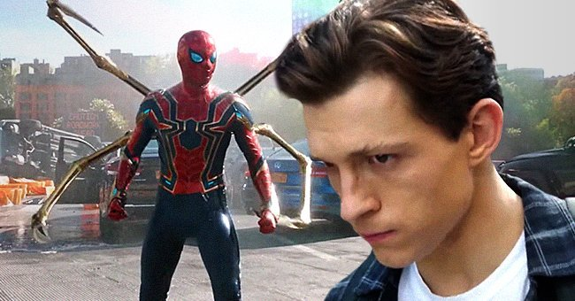 """Tom Holland as Peter Parker, Spider-Man, in the newest trailer of  """"Spider-Man: No Way Home"""" 